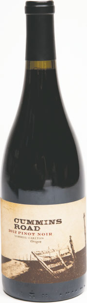 SIDEWAYS This Crummins Road 2012 pinot noir's the perfect holiday beverage to serve alongside takeout tapas and gourmet popcorn for a night of movie-watching with the family—and the extended fam.$28, at The Wine Bin in Ellicott City.