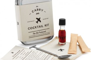 I'M FLYING Party people and regular travelers alike will appreciate  the W&P Carry-on Cocktail Kit, which comes complete with every little thing necessary to mix two classic Old Fashioneds while aloft—minus the booze, of course. $24, at Sur La Table in Annapolis.