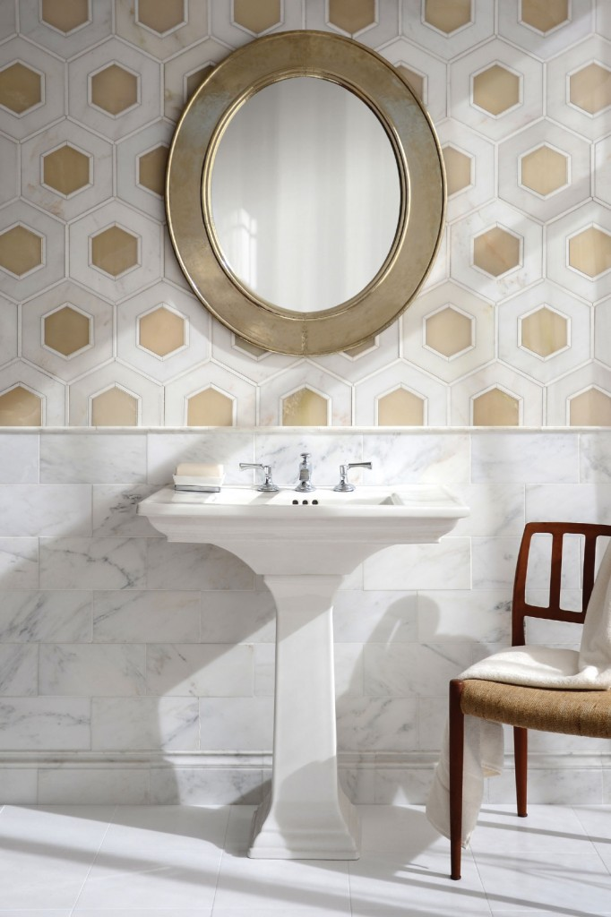 Trend to Love: Pale Neutral Meets Hexagon