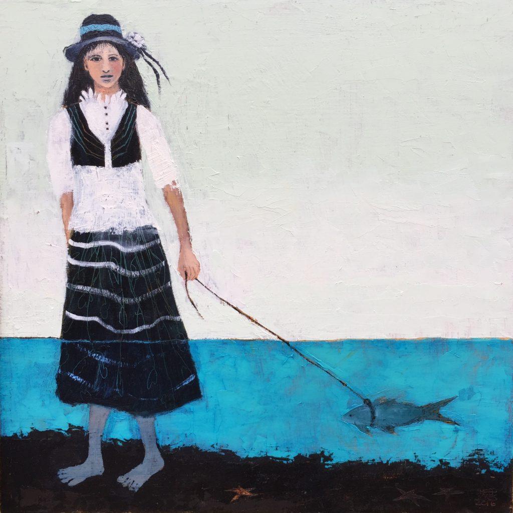 """Fish Walker"" by Sheep Jones."