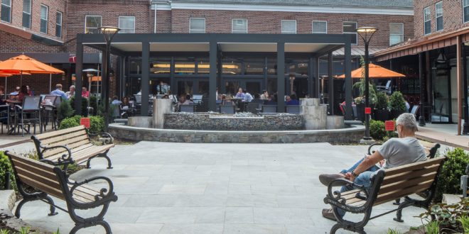 Green Spring Station Celebrates New Courtyard