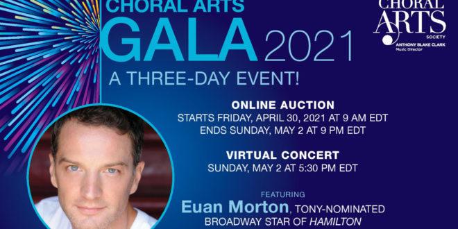 Baltimore Choral Arts Society to Host Three-Day Virtual Fundraising Gala