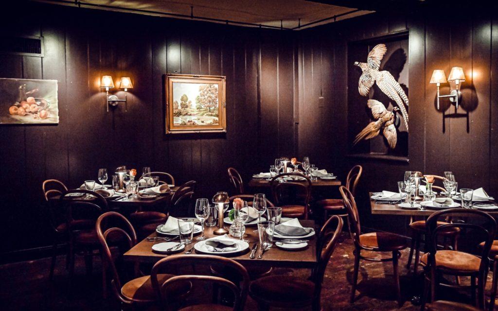 Milton Inn dining room
