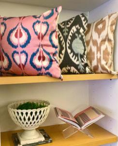 Turkish Hand Dyed Silk Pillows Bungalow Modern